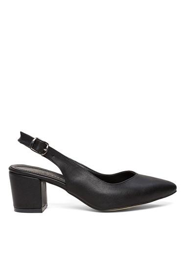 Sole Sisters Topuklu Ayakkabı Siyah - Drew2 Siyah